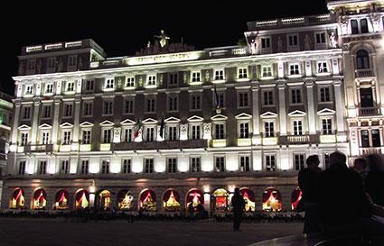 Piazza dell'Unità d'Italia Triest